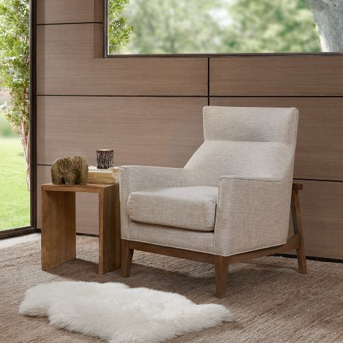 Best Wheat Grass Beige Accent Chair Carmen With Images 640 x 480