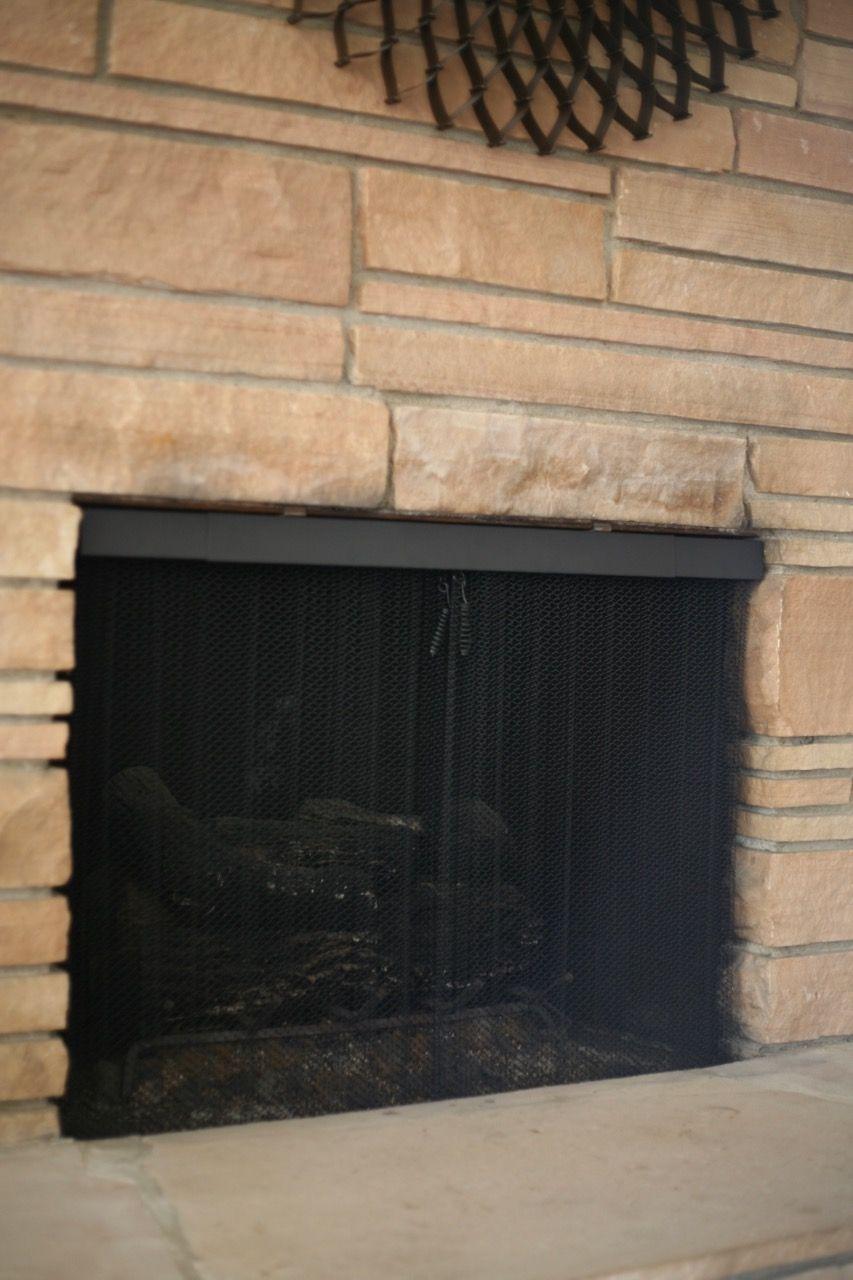 valance rod mesh curtain
