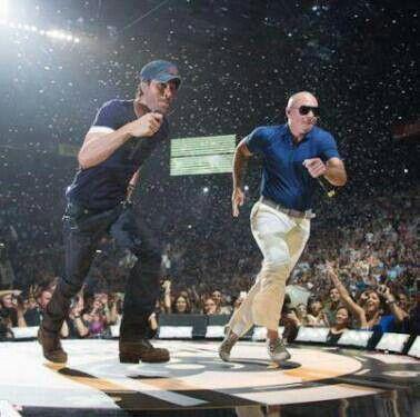 Enrique Iglesias and Pitbull Enrique iglesias, Record