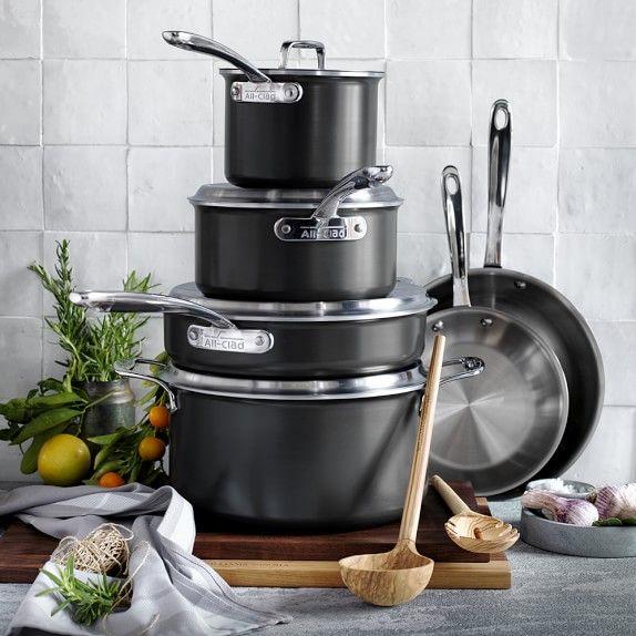 All-Clad LTD 10-Piece Set | KITCHEN | Cookware set, Cast
