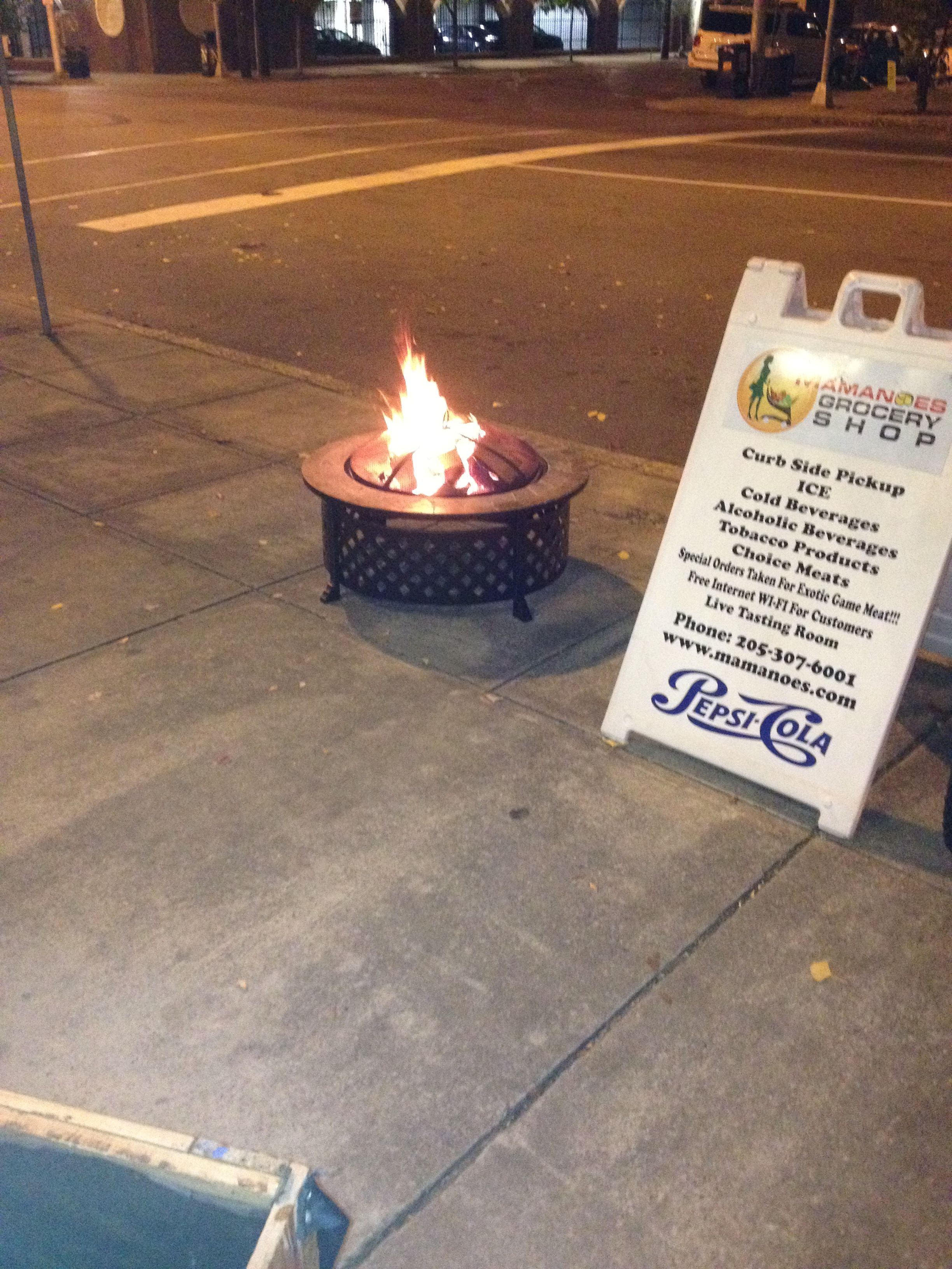 Our Firepit Will Be Sure To Keep You Warm During Cold Evenings We Are Located At 2301b 2nd Avenue North Birmingham Al 3520 Grocery Shop 2nd Avenue Grocery