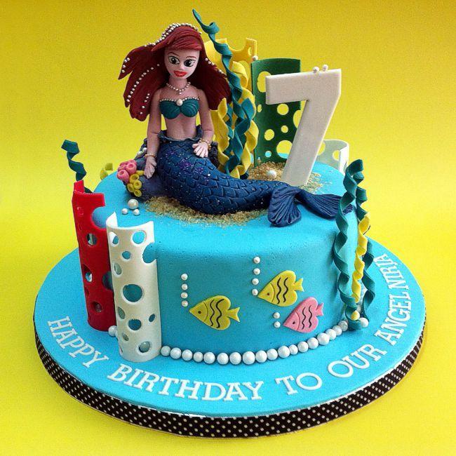 Mermaid 3d kid cakes kualalumpur cakeshop cakestore johor