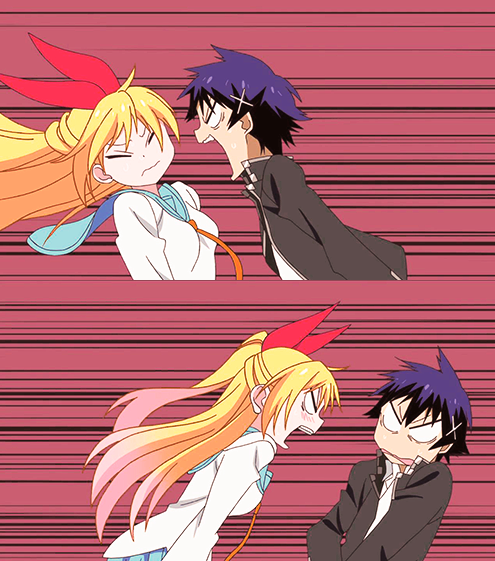 This is how their relationship works - Nisekoi ~ DarksideAnime