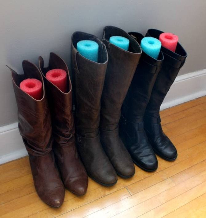 10 Ridiculously Amazing Ways To Repurpose A Pool Noodle Boots Pool Noodles Trampoline Springs