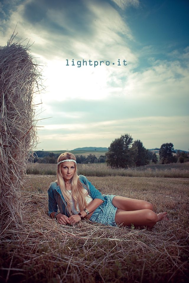 Girl in Hay by Anna Lightpro Maroutian on 500px