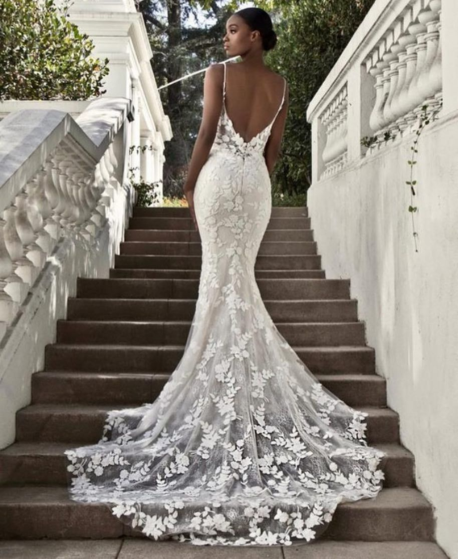 """Form Fitting Wedding Gowns: Wedding Dress Lookbook On Instagram: """"Yes Or No? Dress"""