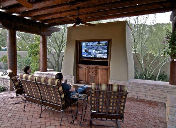 Outdoor Patio Ideas With Tv ~ Http://modtopiastudio.com/simple