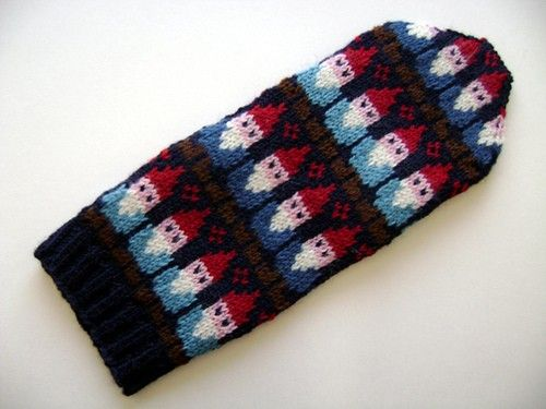Gnome Mittens Pattern Mittens Pattern Gnomes And Mittens