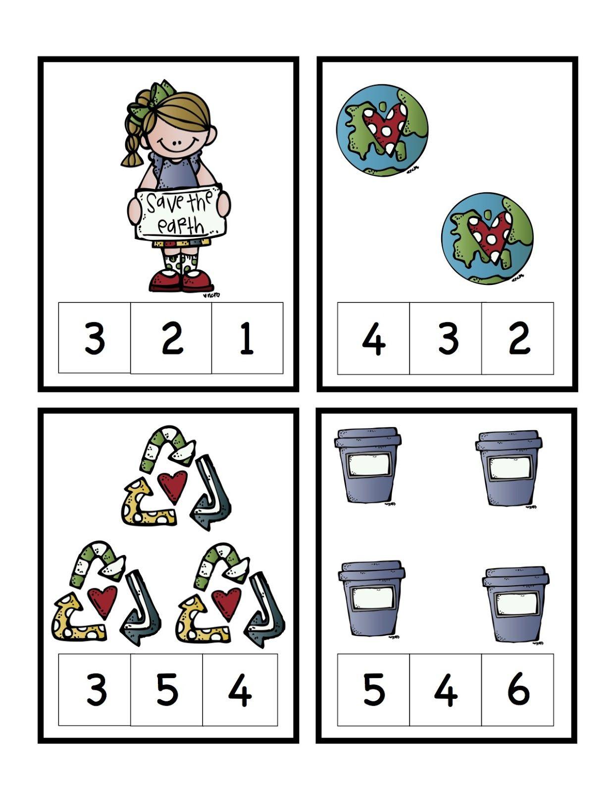 Free Printable Earth Day Worksheets For Kindergarten