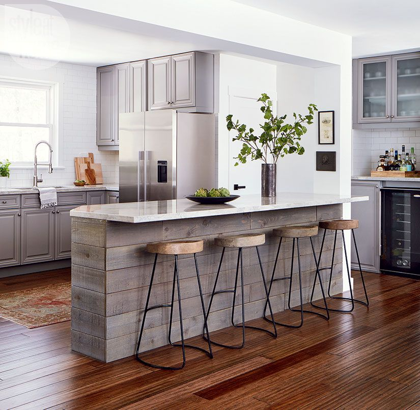 An Amazing Kitchen Makeover On A Surprisingly Low Budget With Images Kitchen Decor Modern Small Modern Kitchens Modern Kitchen Set