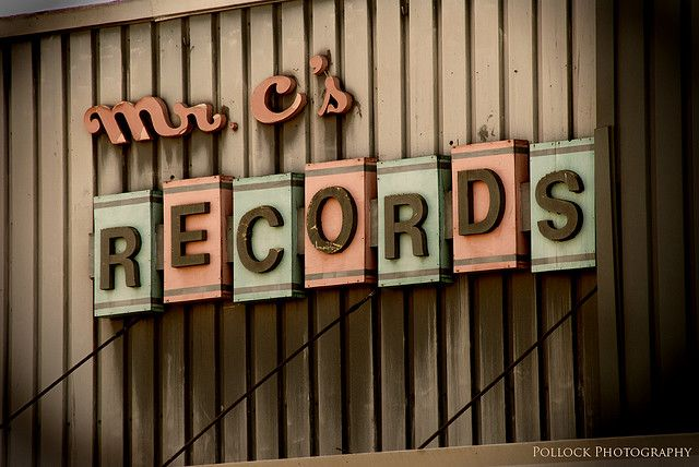 You May Be Wondering What A Record Is Vintage Signs