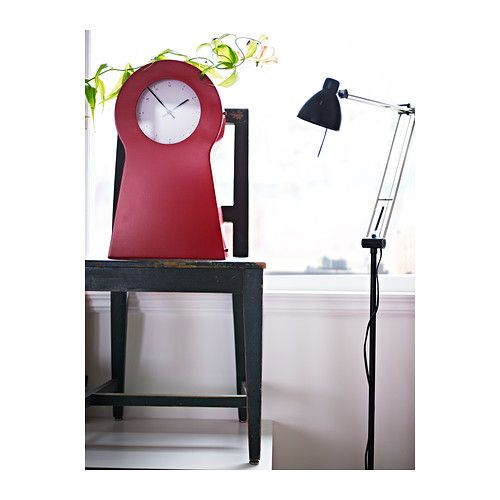 Folks this clock is also on the b-day list IKEA PS Clock IKEA Clock with storage space for small items; 1 fixed shelf included. Can be hung on the wall or placed on a shelf.