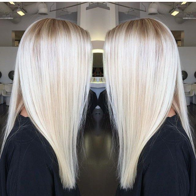 Perfectly Platinum Color By Colorbyashley Hair Hairenvy