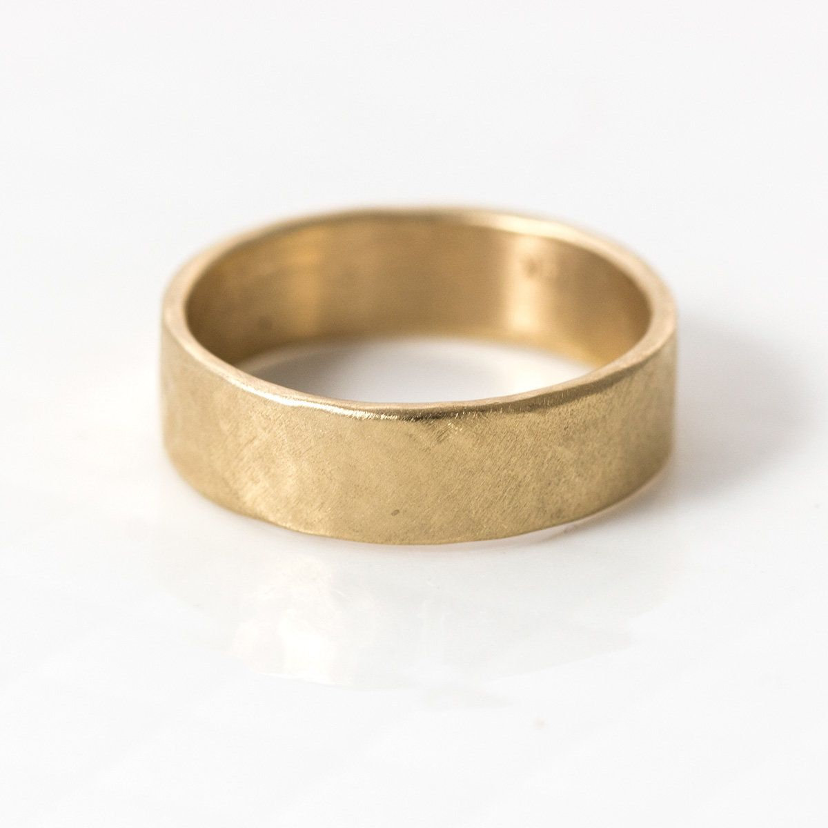 6mm Hammered Wedding Band By Melanie Casey This 6mm X 1 25mm Men S Wedding Band Is Ha With Images Hammered Gold Wedding Band Hammered Wedding Bands Mens Gold Wedding Band