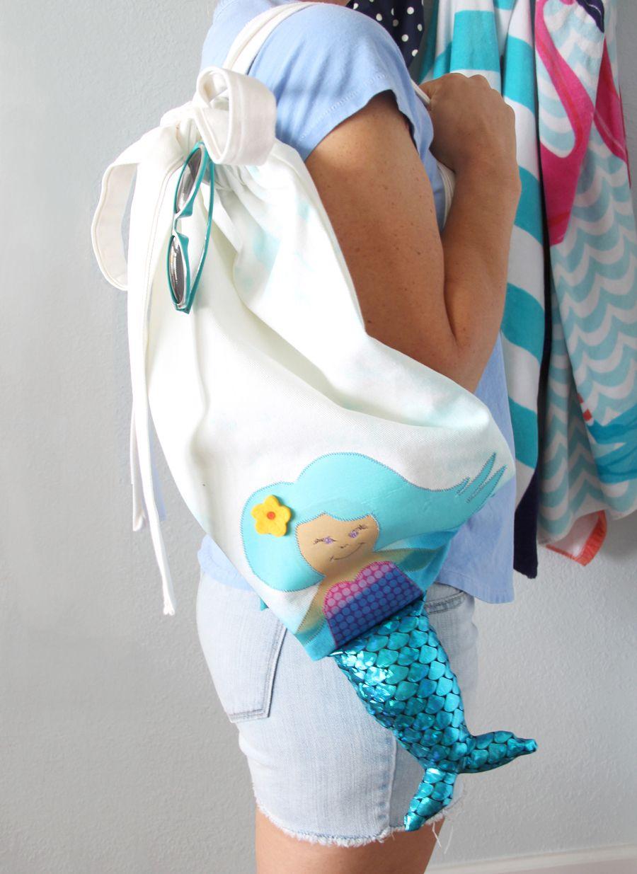 Mermaid Backpack | Free pattern, Tutorials and Patterns