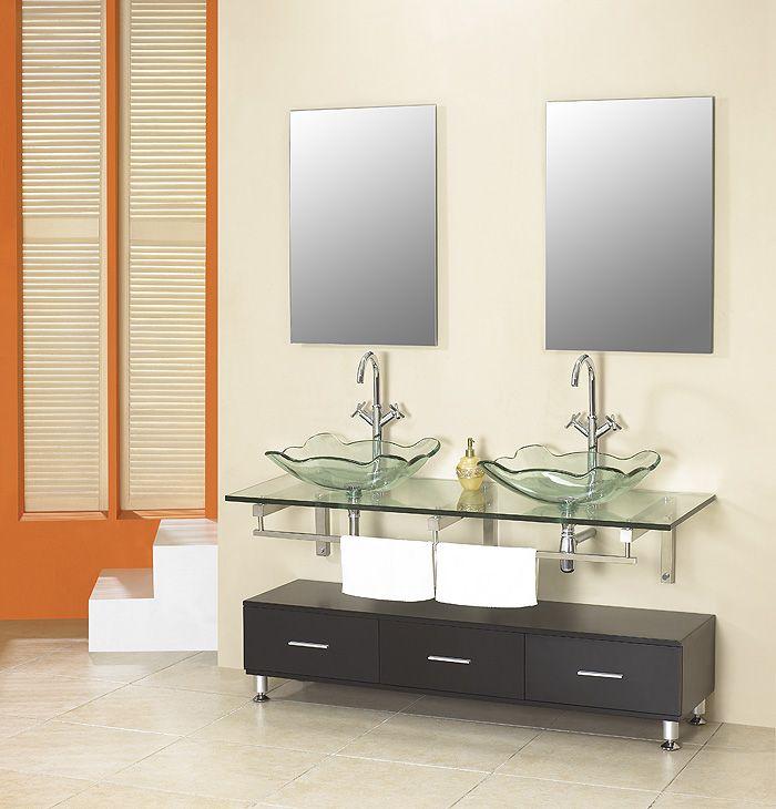 Contemporary Bathroom Vanity Units Banos Modernos Pinterest