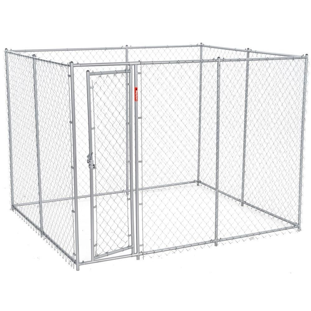 6 Ft H X 5 Ft W X 10 Or 6 Ft H X 8 Ft W X 6 5 Ft L 2 In 1 Galvanized Chain Link With Pc Frame Box K