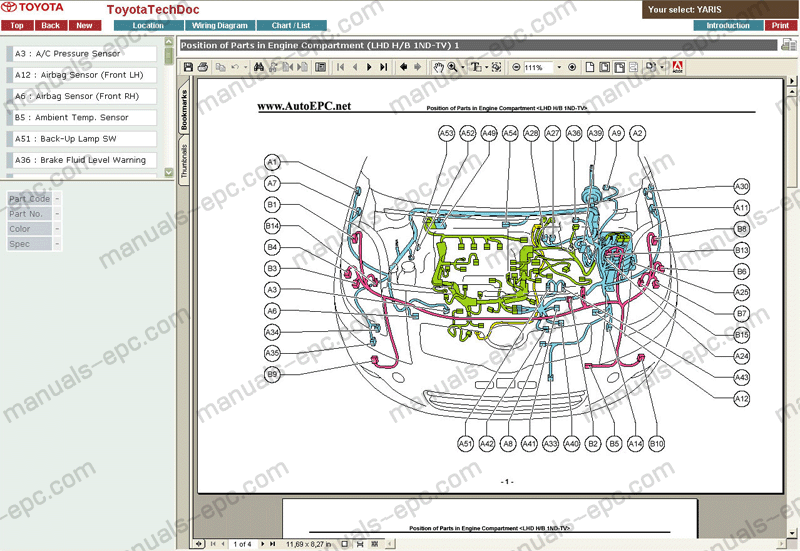 toyota yaris car wiring diagram wiring diagrams schematic rh galaxydownloads co