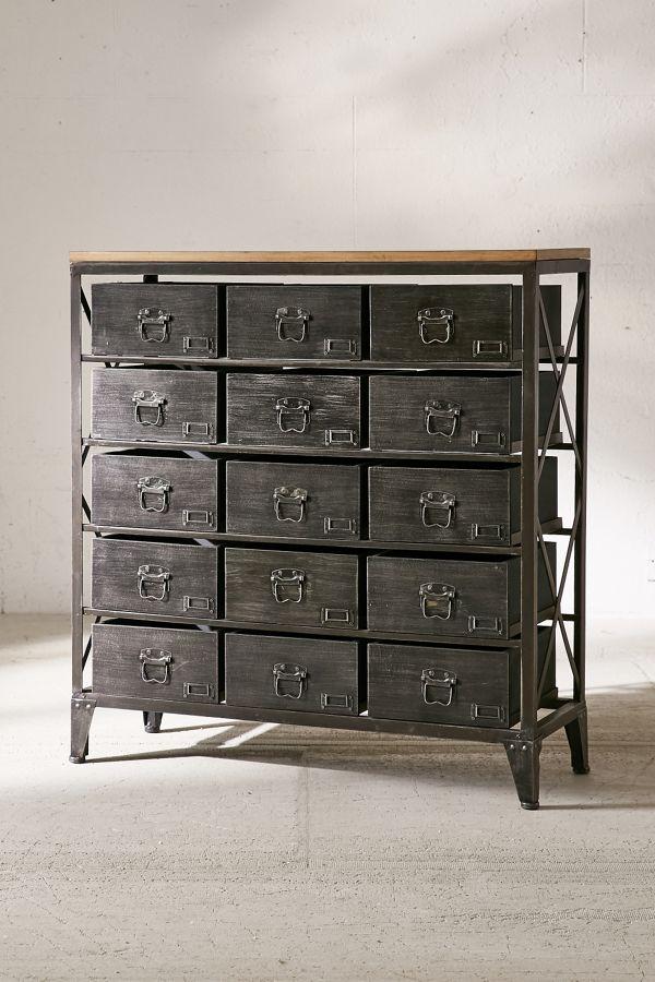 Urban Outfitters Industrial Storage Dresser Industrial