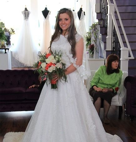 Instagram Duggar Wedding Joy Duggar Wedding Wedding Dresses