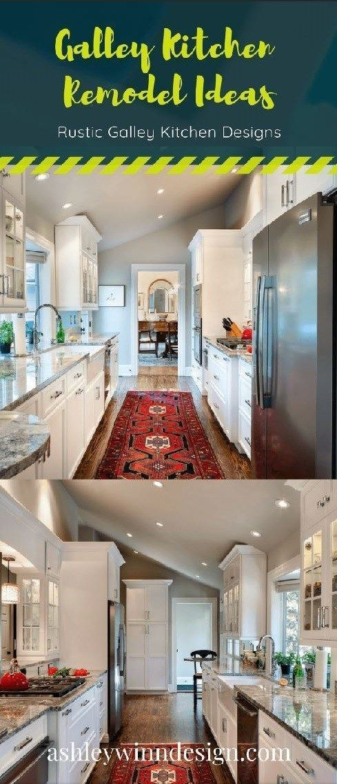 29 Awesome Galley Kitchen Remodel Ideas, Design, Inspiration #opengalleykitchen