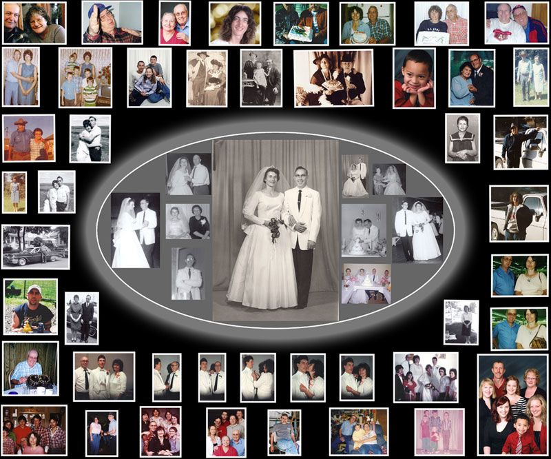Free online collage maker for wedding anniversary