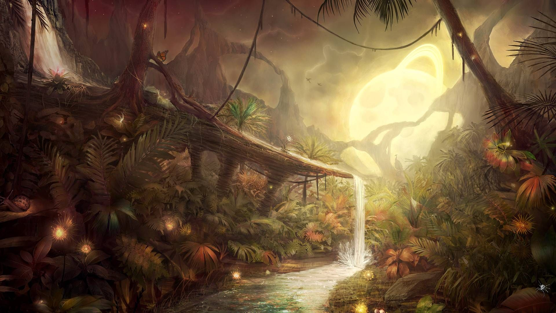 Fantasy art Full HD Wallpaper and Background | 2560x1386 | ID:676334