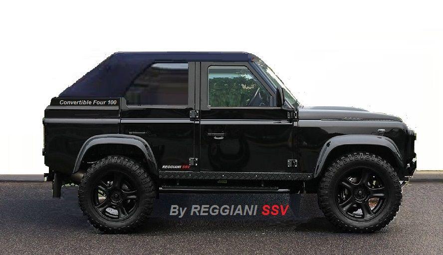 Defender Land Rover Convertible Custom By Reggiani Ssv Land