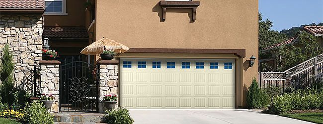 Add Charm To Your Home With A Vinyl Garage Door Vinyl Garage Doors Garage Doors Overhead Garage Door