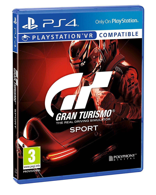 Gran Turismo Sport PlayStation 4 Amazon.fr Jeux vidéo
