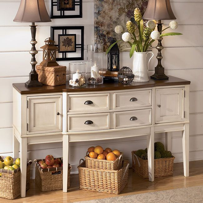 Whitesburg Collection by Ashley Furniture: Cottage Style Charm in ...