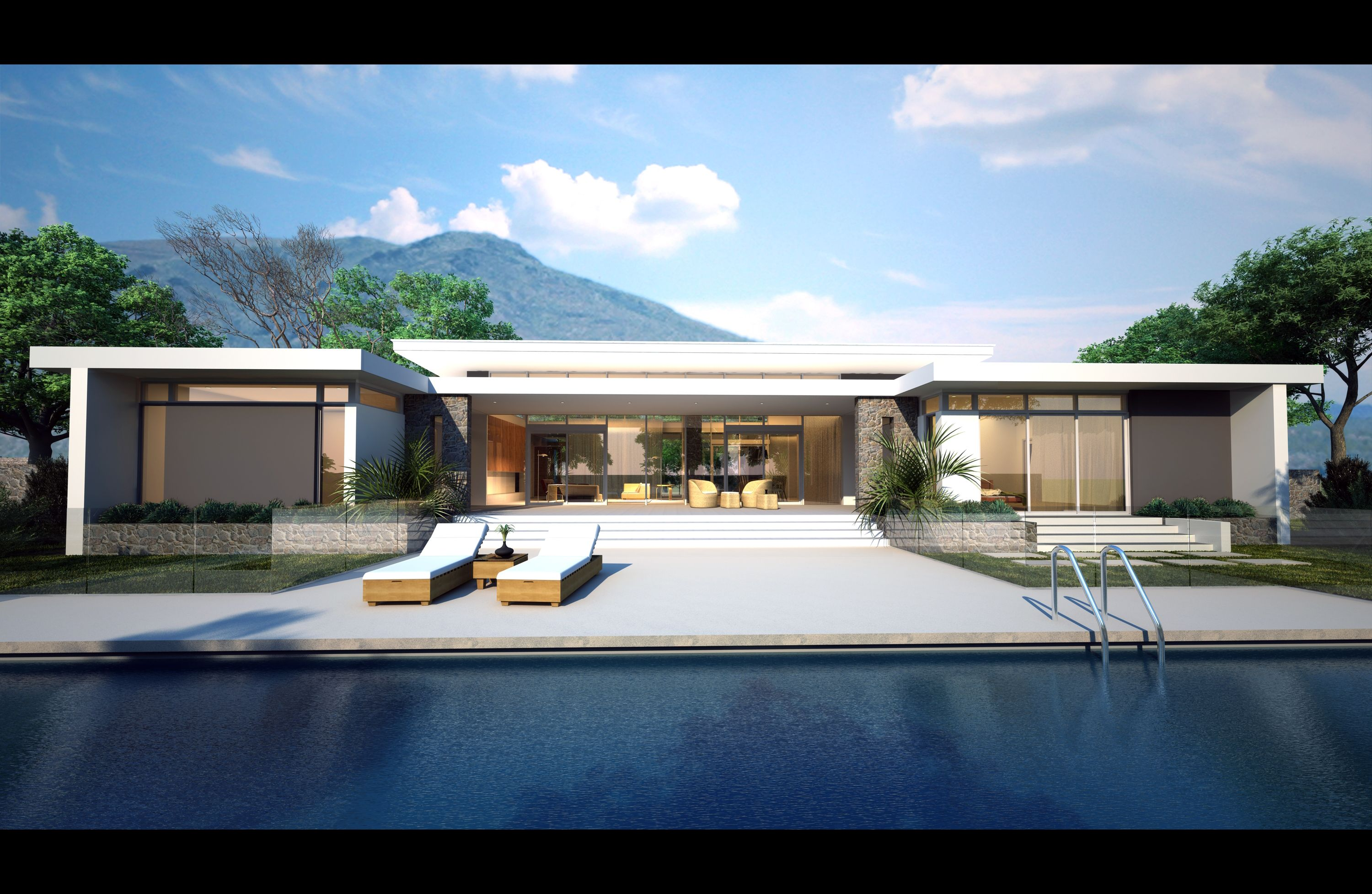 Single Story Flat Roof House Plans: A New Design By Perth Builder Platinum