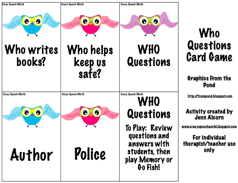 Free download more owls for wh 44 question answer for How do you play go fish