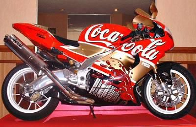 Coca-Cola ~ Motorcycle FOLLOW THIS BOARD FOR GREAT COKE OR ANY OF OUR OTHER COCA COLA BOARDS. WE HAVE A FEW SEPERATED BY THINGS LIKE CANS, BOTTLES, ADS. AND MORE...CHECK 'EM OUT!! Anthony Contorno Sr