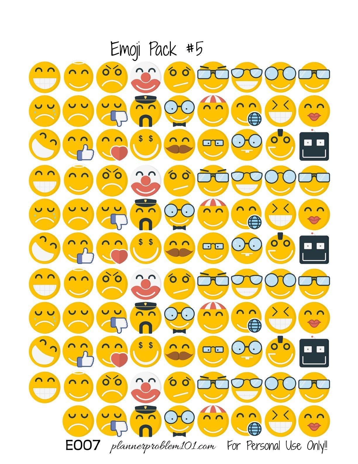 Emojis Sheets