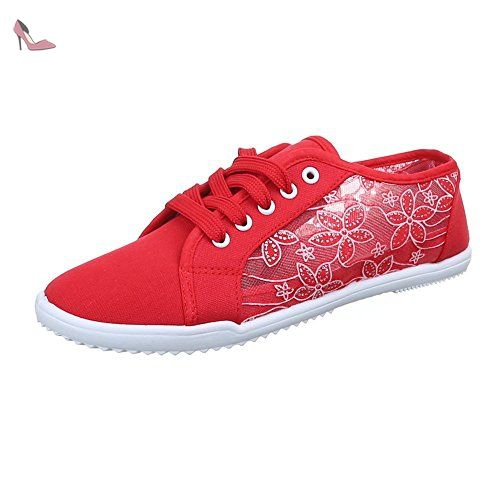 Chaussures Topschuhe24 grises femme MadYtNw7