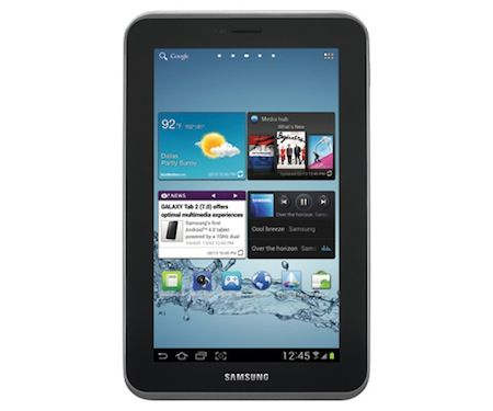 Samsung Galaxy Tab 2 Tablet with WiFi sweepstakes