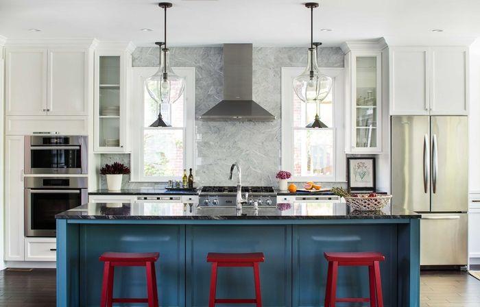 ▷ 1001 + idées déco tendance pour lu0027aménagement du0027une cuisine gris