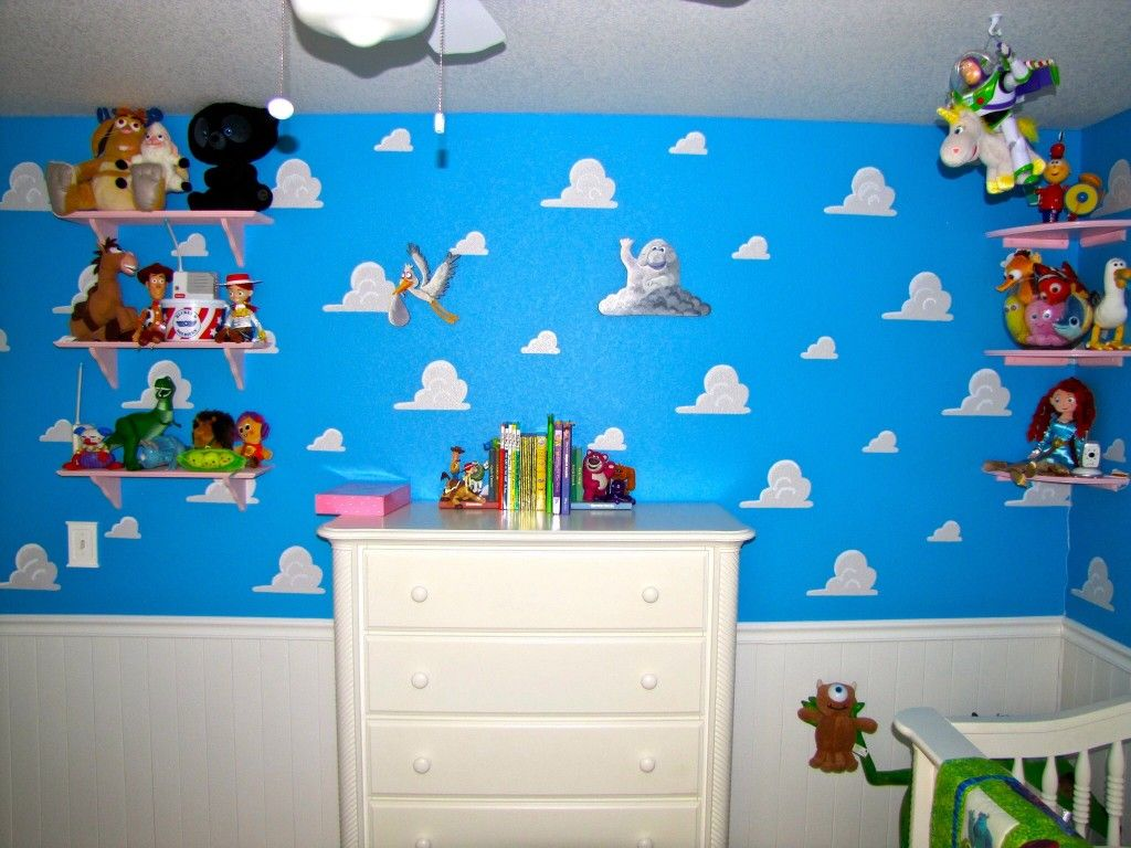 Cloud Wallpaper For Bedroom Pixar Themed Nursery Boys Nursery Ideas Nursery