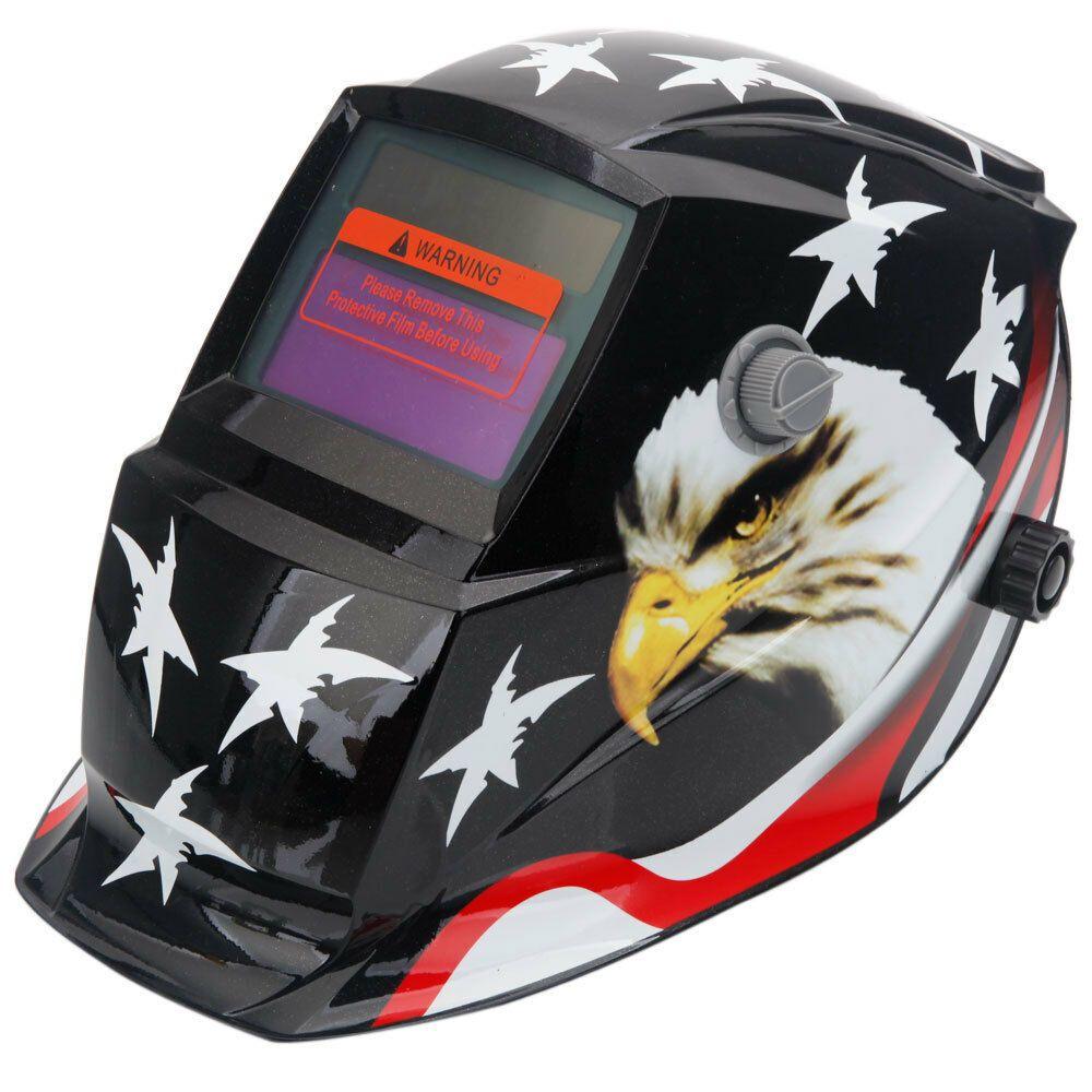 Pro Eagle Type Solar Automatic Dimming Welding Helmet Grinding Welder Mask Hood