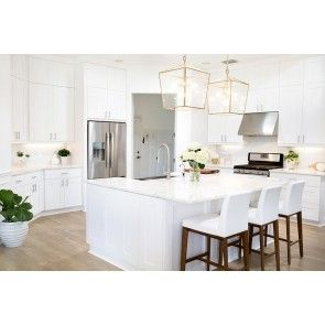 Frameless RTA Simply White 10x10 Kitchen Cabinets from ...