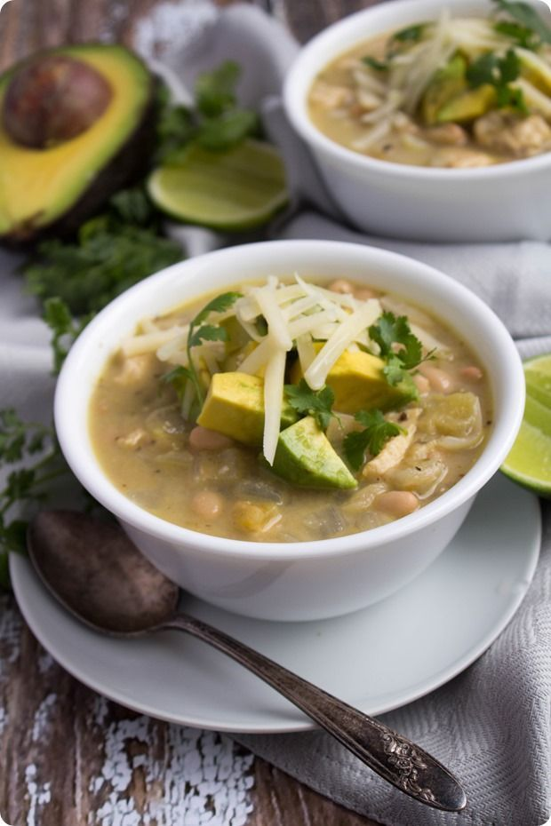 Creamy Mexican Chicken Chili Soup #mexicanchickentacos