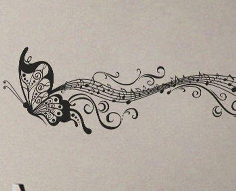 Photo of New Tattoo Ideas Music Notes Wall Art Ideas