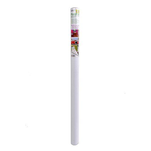 Feuille Melamine Adhesive Blanc L 215 X L 90 Cm Feuille Blanc Melamine