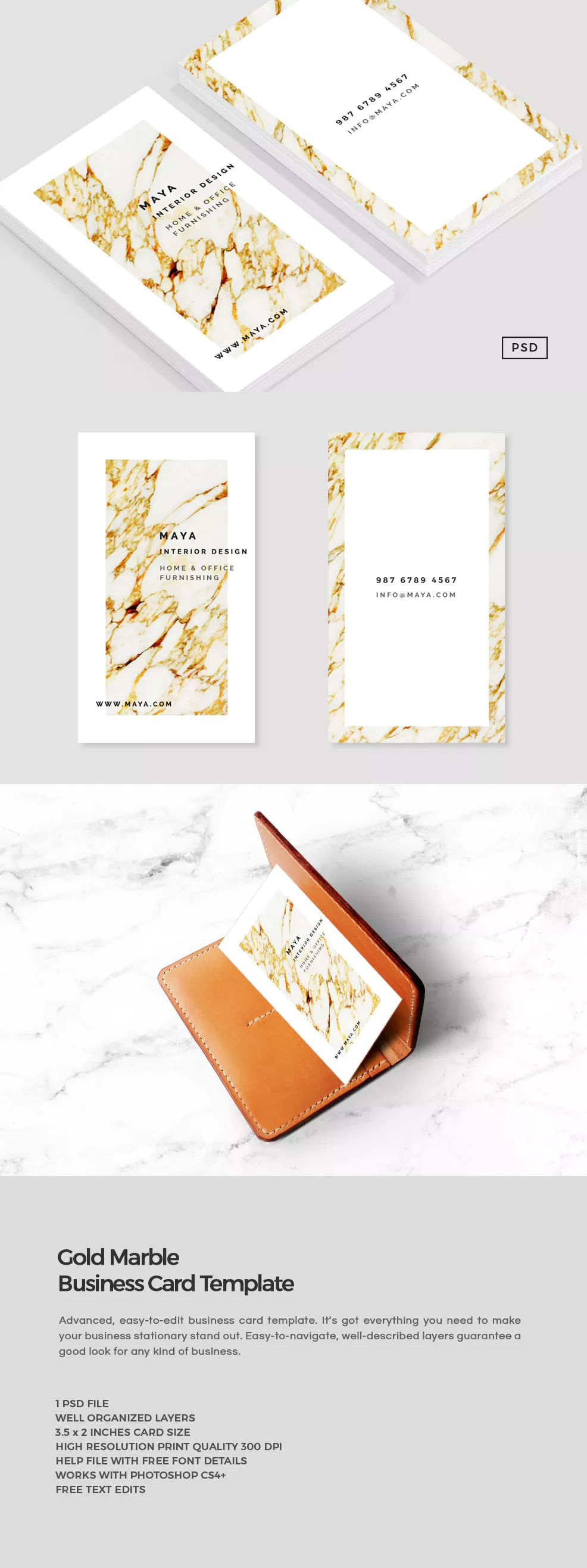 Business card templates photoshop cs4 choice image card design and gold marble business card template psd business card tempaltes gold marble business card template psd reheart reheart Image collections