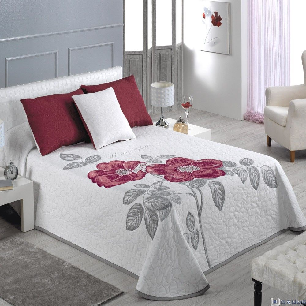 Colcha rose ca ete aplike yatak rtulerimiz pinterest - Colchas dormitorio matrimonio ...