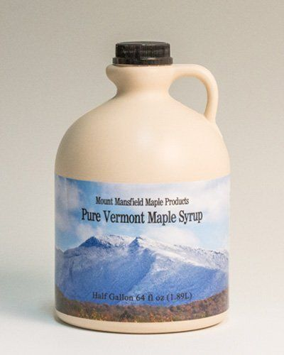 f6dc079fb75 Mansfield Maple Half Gallon 64oz Pure Vermont Maple Syrup Grade A Dark  Robust Vermont Grade ADark    To view further for this item