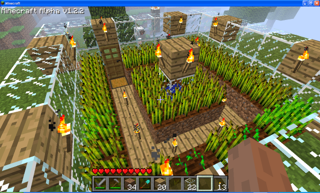 Minecraft Farm Design Minecraft farm, Farm design, Farm