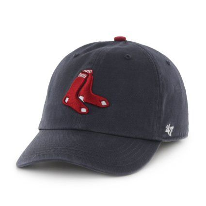 wholesale dealer 80a0c e6b98 ... where to buy boston red sox 47 brand mlb clean up adjustable navy hat  chapeau socks
