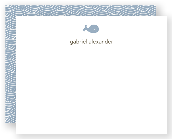 Ocean Icons - Flat Notecard